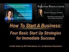 Ellen Onieal Little,Business Coach with Business Resolutions and Dagmar Gatell, SEO Expert with Search Engine International explain the foundational business principles to start your business the right way the first time.