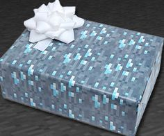 Minecraft Wrapping Paper $7.99