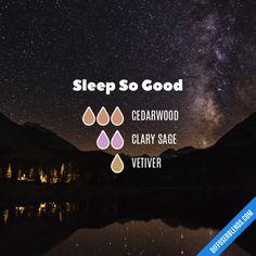Sleep So Good - Essential Oil Diffuser Blend