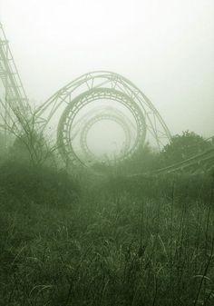 15 fotografias de lugares que se tornam fantásticos por terem sido abandonados. nara dreamland japão
