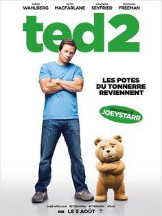 TED 2. Nouveaux mariés, Ted et Tami-Lynn essayent d'avoir un bébé et demandent à John d'être le donneur en vue d'une insémination artificielle. Cependant, s'il veut avoir la garde de l'enfant, Ted va devoir prouver devant un tribunal qu'il est véritablement humain.