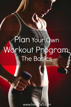 When it comes to getting fit or losing weight, having a long-term workout program planned will help you to stick with it. When planning your own workout program, you need to start with the basics to come up with something that suits your needs.   Are you trying to lose weight? Are you trying to improve your overall fitness? Are you trying to tone or to bulk up? Having a clear grasp of what you're aiming to do in the long-run will help to guide your plan and keep you motivated, too.
