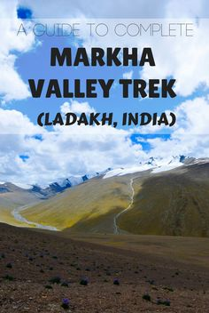Itineraries, travel tips, prices, advice, transportation and all you need to know to complete Markha Valley trek (Ladakh, India) on a budget and without a guide