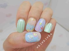 Yes Enjoy Time! (Y.E.T) Nail Wrap | chichicho~ nail art addicts