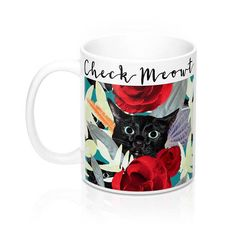 Check MEOWt Mug Funny Mug Cat Mug Cat Lover Mug Cat Lover Gift