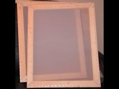 Check out this awesome way to make your own DIY silk screen frames and re mesh them yourself as well.  You will absolutely LOVE  this!!!