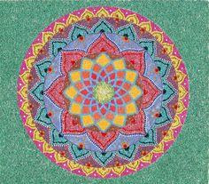 Original Sand Art Mandala