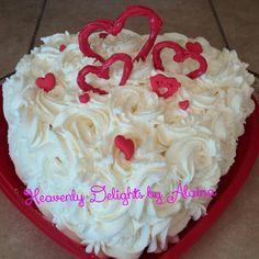 Valentine cake  Red Velvet!