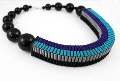 square lanyard double necklace, love it! by jenniferloiselle