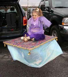 Genie On A Carpet Costume