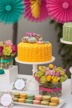 This little baby shower theme has my name written all over it... totally pinning for the future!