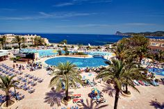 Sirenis Seaview Country Club, Port D'es Torrent, Ibiza, Spain - stayed here when Leah was 2 - really good quality and great facilities - water park really good bonus