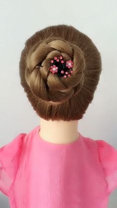 Fantastic Pic Hairstyle Tutorial 892 Thoughts Each hair has its characteristic, and can be separately carried. You can find so many sweet hairst Easy Hairstyles For Long Hair, Pretty Hairstyles, Braided Hairstyles, Medium Hair Styles, Natural Hair Styles, Long Hair Styles, Hair Style Vedio, Hairstyle Tutorial, Hair Upstyles