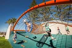 Glenelg Foreshore Playspace, Adelaide, South Australia The Glenelg Foreshore Playspace has been designed to create an innovative play experience that reflects the aspirations and philosophies being developed by the City of Holdfast Bay for play, open space, and recreation. The project delivers a...