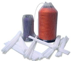 Thread Cone Nets - Pack of 10 (Thread_Nets) - Colman and Company offers a wide selection of dtg supplies and dtg printer ink. Embroidery Supplies, Packing, Wall, Bag Packaging