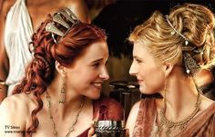 Lucretia and Ilithyia (Spartacus, technically a TV show)
