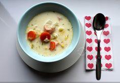 Ketunhäntä keittiössä: Lohikeitto - Salmon Soup