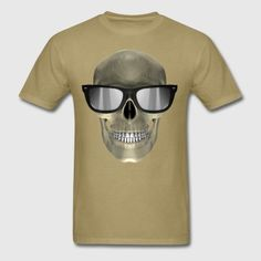 dynamitfrosch at Spreadshirt ✓ Trendy designs on different products ✓ T-shirts hoodies & accessories in many colours ✓ Order your favourite design from dynamitfrosch! Mens Glasses, Skull, Hoodies, Mens Tops, T Shirt, Design, Fashion, Supreme T Shirt, Moda
