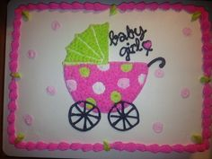 Baby Carriage Cake Baby Cakes, Baby Shower Cakes, Cupcake Cakes, Cupcakes, Baby Carriage Cake, Luncheon Recipes, Cake Decorating, Decorating Ideas, Photo Booth Props
