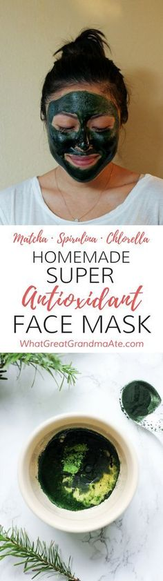 Homemade Super Antioxidant Face Mask for Safe and…