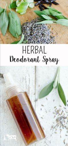Herbal Deodorant Spray (This is the best natural deodorant that I've ever tried!)