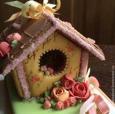 Купить Пряничный домик - пряничный домик, пряничный сувенир, пряничный подарок, имбирные пряники, козули