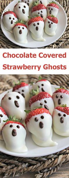 When it comes a party, whether birthday or Halloween  something special need to be baked. I am a big fan of Halloween recipes  specially ghosts. When you are ready for the Halloween and finding something  easy and tasty to treat your guest this is a great recipe for you. The  chocolate dipped strawberry ghosts are very easy to create. You can prepare  this recipe in less than 20 minutes.