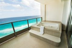 Great Parnassus Resort and Spa All Inclusive (Cancun, Mexico) | Balcony Jacuzzi in Suite