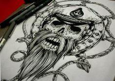 Drawings, Sketches and Tattoo Desings on Behance