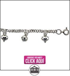 Revoni - Tobillera de plata de ley  ✿ Joyas para niñas - Regalos ✿ ▬► Ver oferta: http://comprar.io/goto/B002X035JS