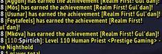 Prestige Gaming world 6! #worldofwarcraft #blizzard #Hearthstone #wow #Warcraft #BlizzardCS #gaming