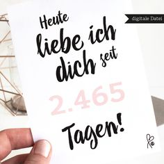 DIY Anweisung - Lastminute Card / druckbare Portable Document Format / Jubiläum / Liebe - A . - Design-Magazin presents aniversario DIY Anweisung - Lastminute Card / druckbare Portable Document Format / Jubiläum / Liebe - A . Surprise Boyfriend, Gifts For Your Boyfriend, 18 Birthday, Birthday Cards, Birthday Gifts, Funny Anniversary Cards, Diy Presents, About Me Blog, Printables