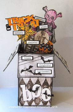 Kath's Blog: Spooky Pop-Up Box Card...
