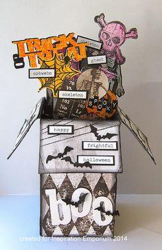 Kath's Blog: Spooky Pop-Up Box Card...
