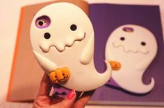 NEW White Ghost With Pumpkins Silicone Case cover for Apple iphone 6 plus 5S 4S. $7.98-9.98 eBay