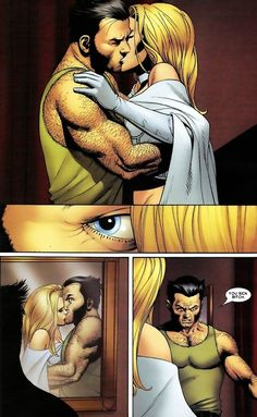 Emma Frost messes with Cyclops - Astonishing X-Men 13