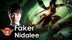 FAKER chơi  NIDALEE rừng vs  A Korean BRONZE LEE SIN tuyệt đỉnh solo mùa 7