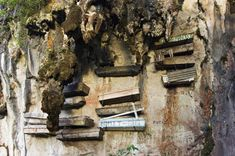 From the initial ritual to the final burial, Rough Guides writer Kiki Deere finds out more about Sagada's hanging coffins. Philippines Travel, Ancient Ruins, Cool Places To Visit, Coffin, The Good Place, Eye Candy, Tours, Exploring