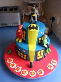 for batman cake