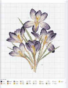 Gallery.ru / Фото #30 - Veronique Enginger. L'Herbier du jardin au point de croix - CrossStich