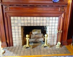 Fireplace - Pittock Mansion 1914.
