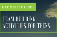 Team Building Activities For Teens: A Complete Guide Team Bonding Activities, Fun Icebreakers, Activities For Teens, Games For Teens, Team Building Challenges, Team Building Exercises, Therapy Games, Therapy Ideas, Tween Games