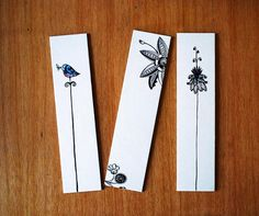 Items similar to Birds and Flowers Bookmarks. Set of 3 fine art print. on Etsy - Items similar to Birds and Flowers Bookmarks. Set of 3 fine art print. on Etsy - Bookmarks For Books, Creative Bookmarks, Cute Bookmarks, Bookmark Craft, Crochet Bookmarks, Bookmark Ideas, Paper Bookmarks, Watercolor Bookmarks, Watercolor Projects