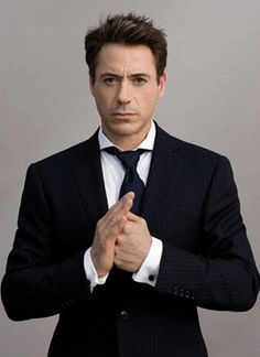 Robert Downy Jr. Witty, charming, and oh so funny. That's why he's my kind of sexy!! Kinda love him.
