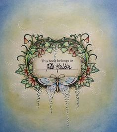 My First From Ivy And The Inky Butterfly By Johanna Basford Several Inspirational Coloristas On