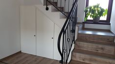 Šatník pod schodami. Stairs, Home Decor, Stairway, Decoration Home, Room Decor, Staircases, Home Interior Design, Ladders, Home Decoration