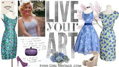 Have some really cool vintage clothing! PoshGirlVintage.com: Vintage Dresses, VINTAGE WEDDING DRESSES, vintage clothing
