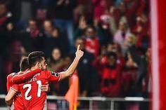 O SL Benfica venceu o Moreirense FC por 3-0, com golos de Pizzi (2) e Raúl Jiménez. Lideramos a classificação com 29 pontos!