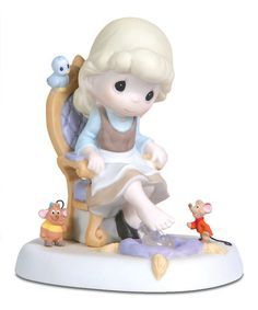 Another great find on #zulily! Cinderella & Mice Figurine by Precious Moments #zulilyfinds