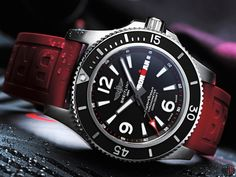 "Breitling has become the official watch of the ""IRONMAN Triathlon Series"" and will release ""Breitling Superocean 44 Ironman Limited Edition"" Breitling Superocean Heritage, Breitling Navitimer, Breitling Watches, Oris Aquis, Vintage Diamond, Watch Brands, Triathlon, Luxury Watches, Accessories"